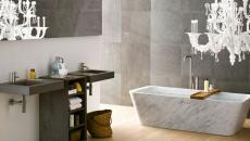 salle de bain élégante design unique moderne