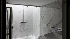 salle de bain tendance marbre blanc bureau design office