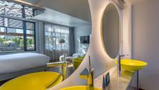 design moderne salle de bains hôtel off paris