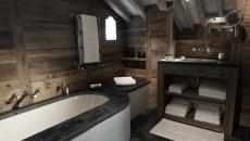 salle de bain design rustique luxe