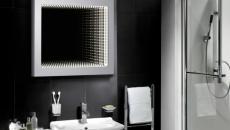 miroir carré cadre glamour élégant