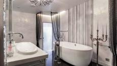 spacieuse salle de bain design luxe appartement