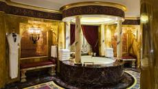 marbre opulence salle de bains à l'arabe
