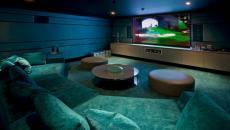 salle de cinéma privée domestique