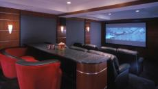 salle de ciné à la maison