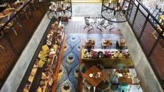 salle principale restaurant exotique original