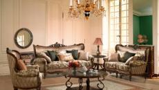 assises salon formel meubles classiques