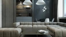 gris tendance maison design contemporain