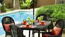 salon de jardin piscine outdoor espace extérieur