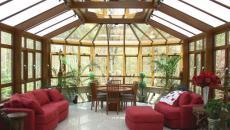 salon de jardin maison verrière véranda
