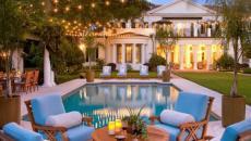 ambiance outdoor villa de vacances