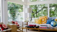 ambiance soleil véranda aménagée meublée salon de jardin