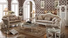 dessin couleur marron ambiance décor classique