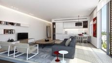 petit appartement à l'agencement moderne