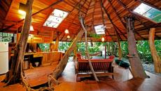 maison en bois chalet en bois séjour nature