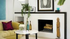 Ambiance accueillante salon moderne