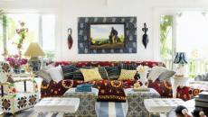 déco de maison multicolore éclectique