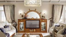 intérieur décoration style design bateau bois