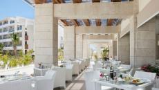 Terrasse vue mer hotel luxe vacances Cancun Mexique