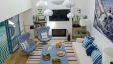 séjour principale villa de vacances biarritz