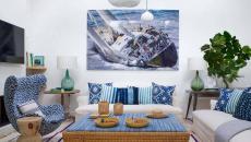 décoration inspirée mer villa de vacances biarritz