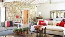 Séjour moderne maison éclectique