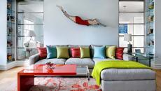 décoration intérieure villa de vacances mer