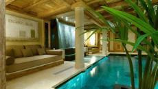 demeure rustique à louer alpes méribel piscine