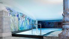 piscine hôtel rustique montagne séjour luxe