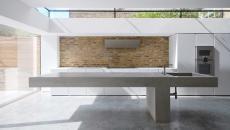 cuisine design industriel formes minimalistes