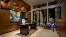 design minimaliste luxueux élégant bureau maison