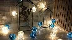 décoration festive féerique guirlande lumières led