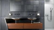 salle de bain unique design luxe spacieuse