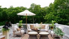 terrasse accueillante maison familiale tapis extérieur