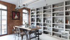style industriel chaises dépareillées maison moderne