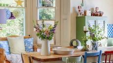 maison secondaire intérieur déco rustique salle à manger cuisine