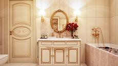 orientale rustique salle de bains