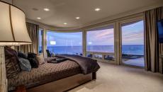 Ambiance romantique chambre avec vue splendide