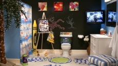 salle de bain enfant unique
