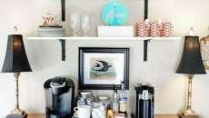 décoration intérieure table de café pause
