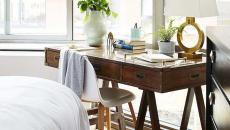 table de coiffeuse ou bureau chambre féminine