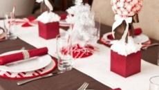 sympa vaisselle simple Noël