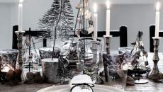 décoration table de noel style chic
