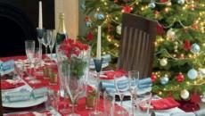 repas de fête Noël idées déco