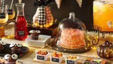 idées déco halloween table de repas