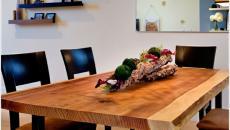 table rustique bois salle à manger DIY