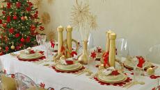 dresser jolie table pour les fêtes de fin d'année