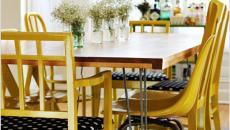 table rusitque salle à manger