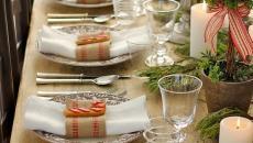 jolie decoration de table noel inspirations