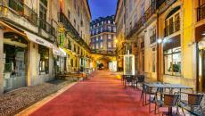 Restaurant du boutique hôtel LX à Lisbonne